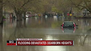 Dearborn hit hard by flooding
