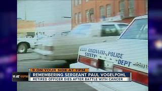 Cincinnati remembers retired police officer Paul Vogelpohl - Video