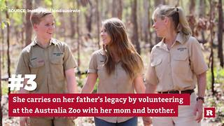 5 facts about Bindi Irwin | Rare People - Video