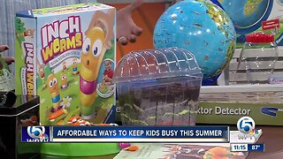 Affordable ways to keep kids busy this summer