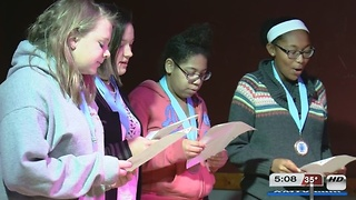 OPS Students Compete in Poetry Slam - Video