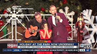 Holiday at The Park kicks off - Video