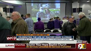 Elder community celebrates life of teacher Mark Klusman - Video