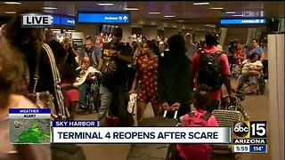 Suspicious package investigated Phoenix Sky Harbor airport - Video