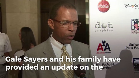 NFL Legend Gale Sayers Opens Up About Ongoing Battles With Dementia