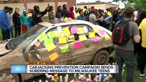 Local carjacking prevention campaign focuses on teens