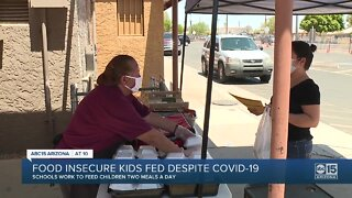 School districts providing food for low-income children amidst COVID-19 uncertainty