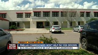 Pinellas Commissioners won't fund school resource officers - Video