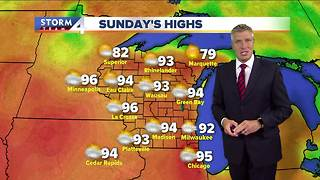 Hot and humid Memorial Day weekend