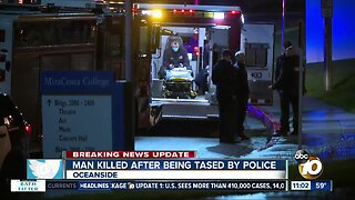 Man killed after being tased by police
