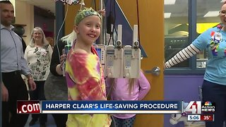 Unique surgery gives 10-year-old with cancer a second chance