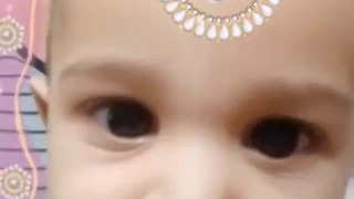 Cuteness Overloaded (Mom & Son) - Indian Bride & Chinese hair style  - Video