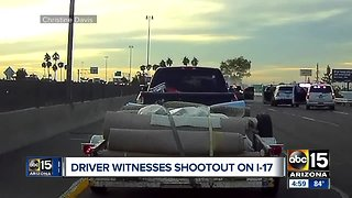 Witness speaks out about shooting involving police on I-17