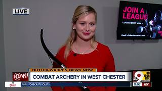 Midwest's first archery combat arena opens in West Chester - Video