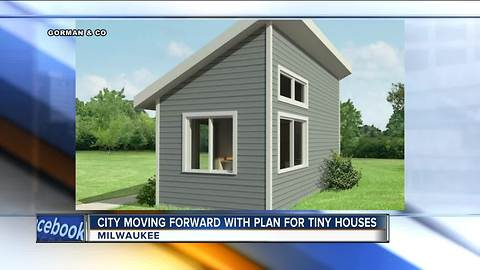 Milwaukee advances tiny house plan for foster care teenagers