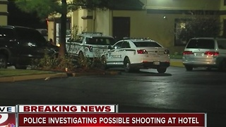 Tulsa Police investigating possible hotel shooting - Video