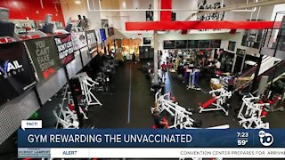 Fact or Fiction: Gym rewarding the unvaccinated