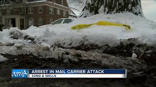 Man charged in attempted sexual assault of mail carrier - Video