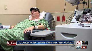 UPDATE: Cancer patient receives progress report