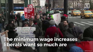 Restaurant Chain Slashes Positiions Over Minimum Wage Hikes - Video