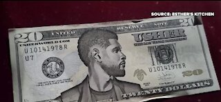 Usher accused of tipping with fake money