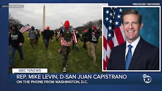 Phone interview with Rep. Mike Levin during Capitol protests