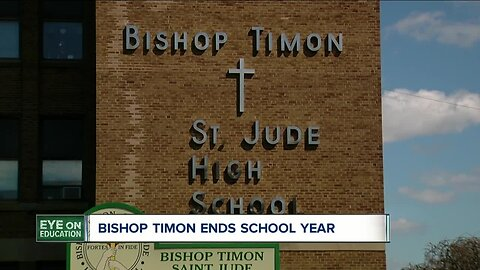 Bishop Timon ends school year due to pandemic
