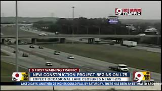 New construction project begins on I-75 near I-275 - Video