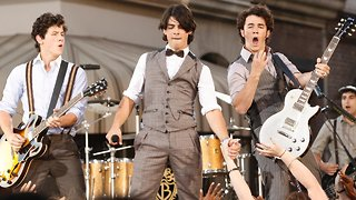 The Jonas Brothers Share Behind-The-Scenes Look At Music Video