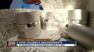 Thousands of consumers lured by skin care creams touting fake celebrity endorsements | WFTS Investigative Report - Video
