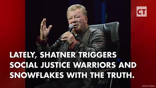 William Shatner Melts Snowflakes With 2 Smug Tweets - Video