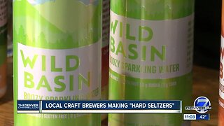 "Local craft brewers making ""hard seltzers"""