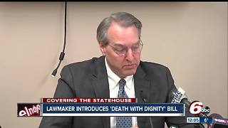 Indiana lawmaker introduces 'death with dignity' bill - Video