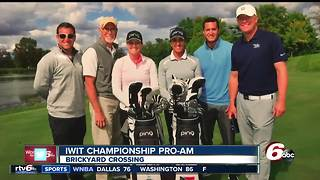 Indy Women in Tech Championship Pro-AM kicks off at Brickyard Crossing - Video