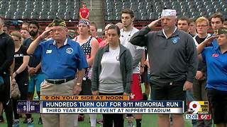 Nippert Stadium event at University of Cincinnati honors victims of Sept. 11 terror attacks - Video