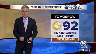 South Florida weather 8/8/18 - 11pm report - Video