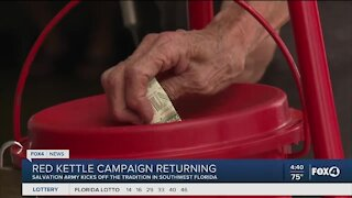 Red Kettle Campaign returning