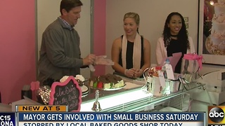 Mayor Greg Stanton getting involved in Small Business Saturday - Video