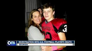 Friends, family remember high school football player who died after game