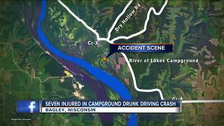 7 Milwaukee area campers hit by out-of-control SUV - Video