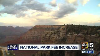 National Park Service proposes higher entrance fees at Grand Canyon, 16 others - Video