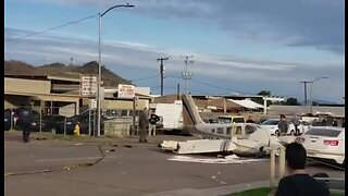 Emergency landing of plane in north Phoenix Wednesday