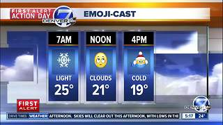 Monday morning forecast: First Alert Action Day - Video