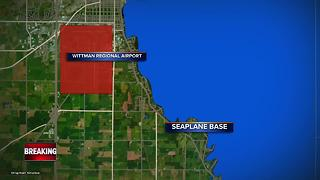 Seaplane crash on Lake Winnebago critically injures two people - Video