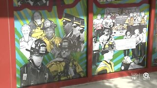 Former deputy fire chief accuses Boynton Beach city manager of lying about whitewashed mural