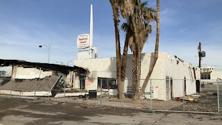 Body found after 2-alarm fire at downtown Las Vegas chapel
