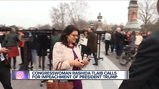 Rep. Rashida Tlaib: 'We're gonna impeach the motherf***er.""