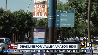 Cities vying for second Amazon headquarters - Video