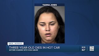 Phoenix mom arrested after child dies in hot car