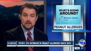 Increase In Peanut Allergies - Video